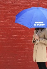 CarefulPeach Blue Full Length Umbrella