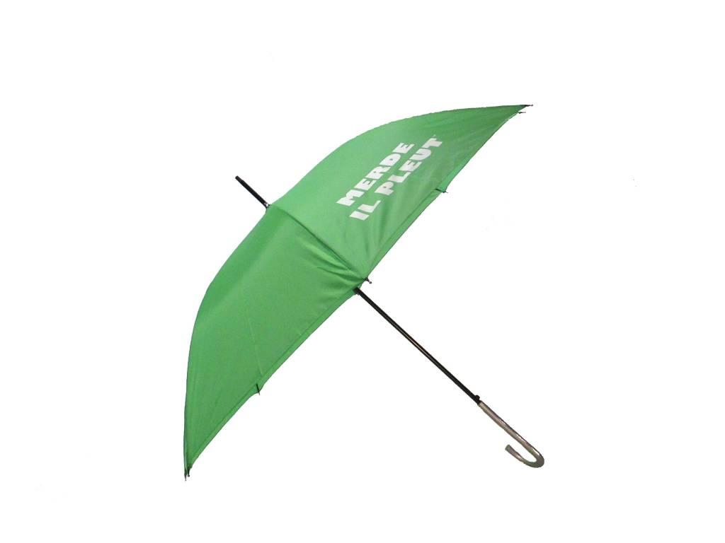CarefulPeach Lime Green Full Length Umbrella