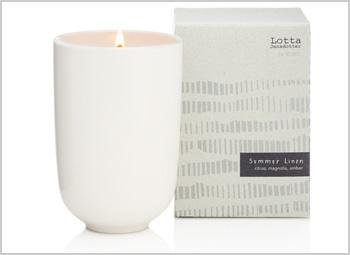 Kobo Summer Linen Soy Candle