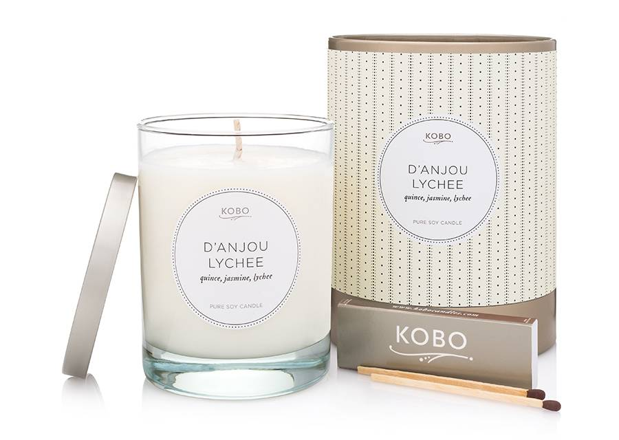 Kobo D'Anjou Lychee Soy Candle