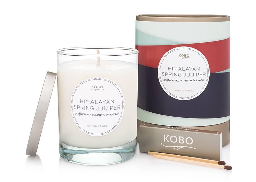 Kobo Himalayan Spring Juniper Soy Candle