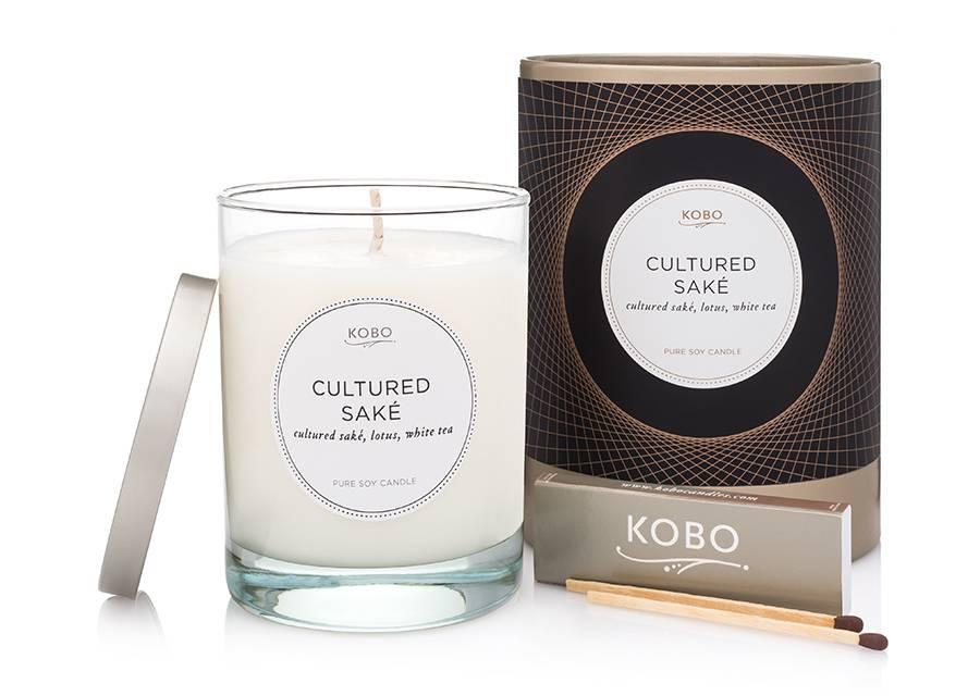 Kobo Cultured Sake Soy Candle