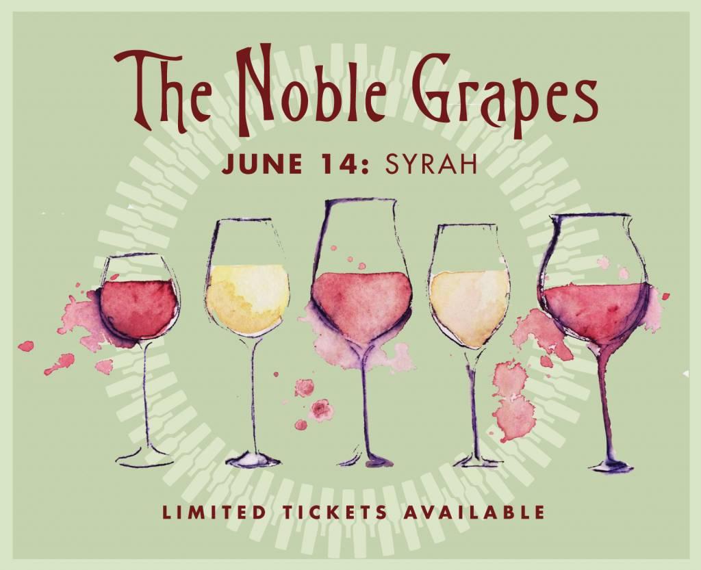 CarefulPeach Syrah Wine Tasting Ticket