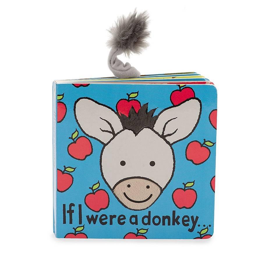 JellyCat If I Were a Donkey