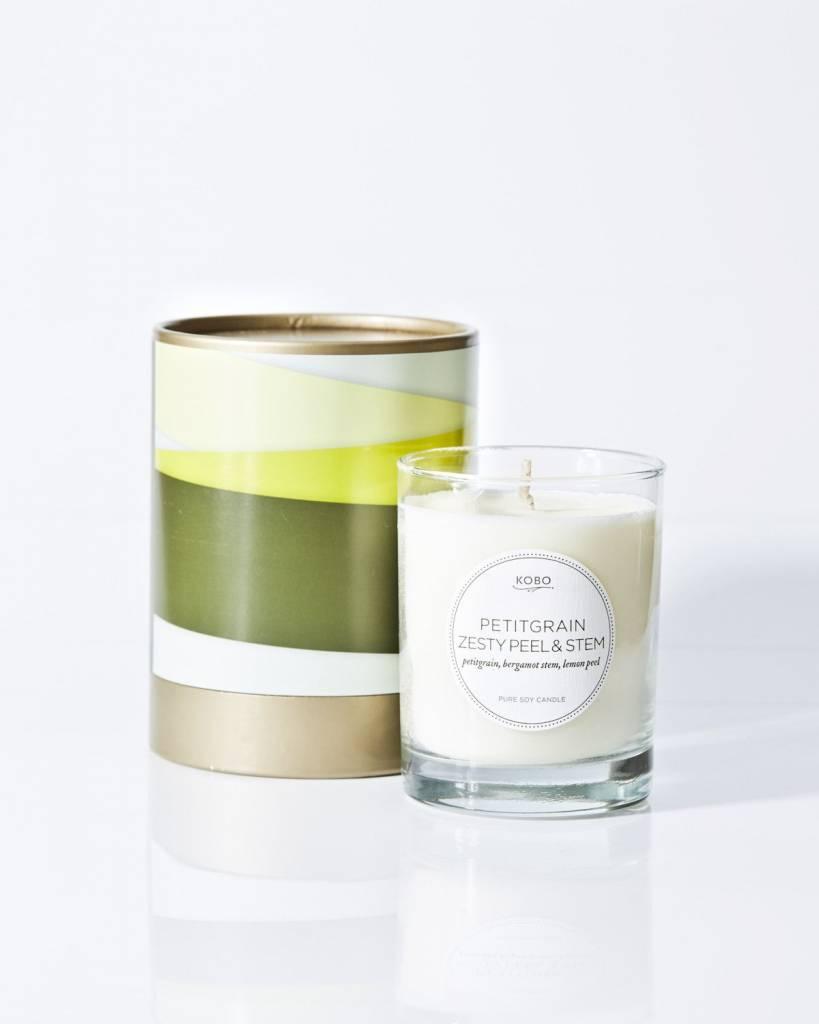 Kobo Petitgrain Zesty Peel & Stem Soy Candle