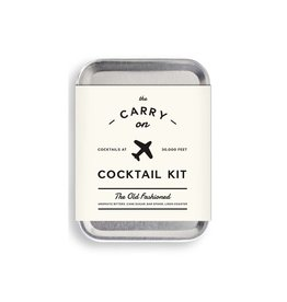 Old Fashioned Carry On Cocktail Kit