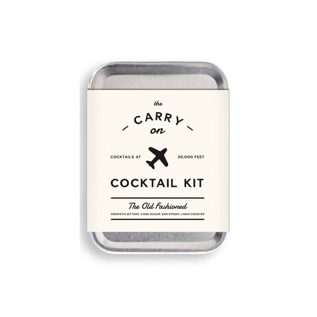 W&P Designs Old Fashioned Carry On Cocktail Kit