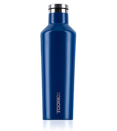 Corkcicle 16oz Canteen in Riviera Blue