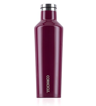 Corkcicle 16oz Canteen in Gloss Merlot