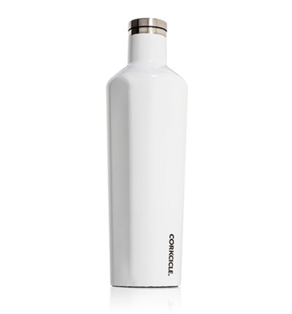 Corkcicle 25oz Canteen in White
