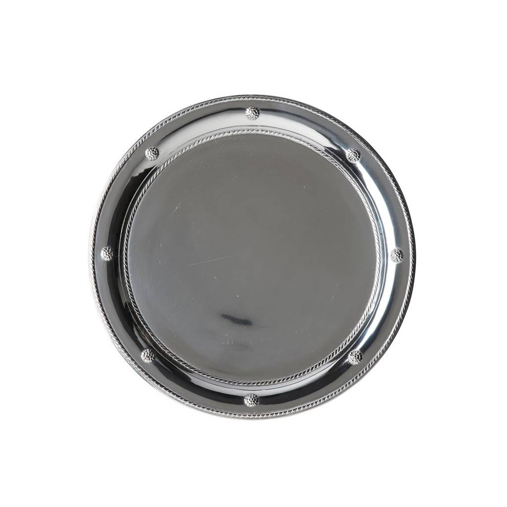 Round Metal Tray- Hadley & Bradley's Wedding Registry