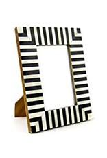 "Striped Frame, 4x6""- Hadley & Bradley's Wedding Registry"
