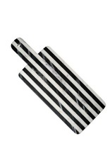 Black & White Striped Marble Cheese Paddle- Hadley & Bradley's Wedding Regsitry