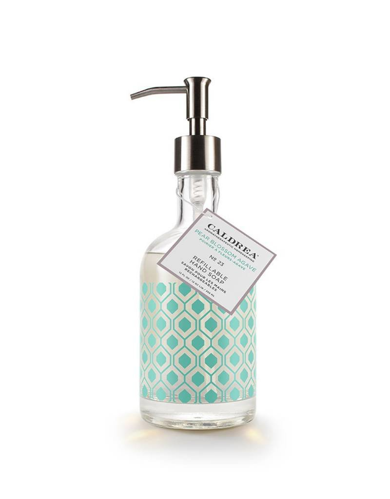 Pear Blossom Agave Glass Refillable Hand Soap