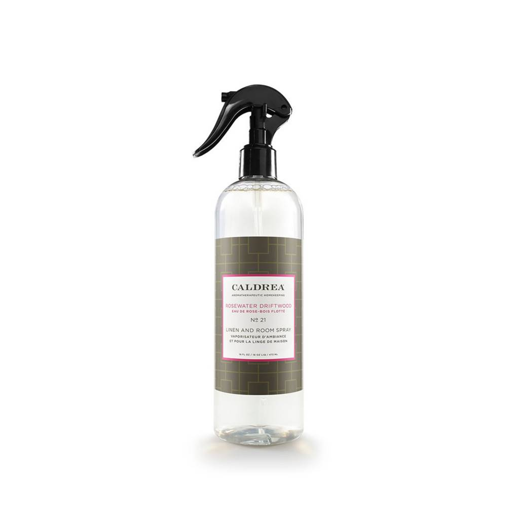 Rosewater Driftwood Linen and Room Spray