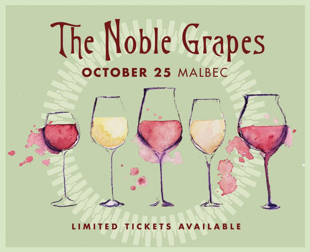 CarefulPeach Noble Grapes Event Ticket: Malbec