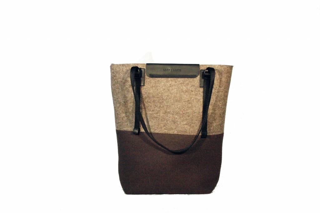 Graf & Lantz Sunset Horizon bag in Tobacco & Hemp