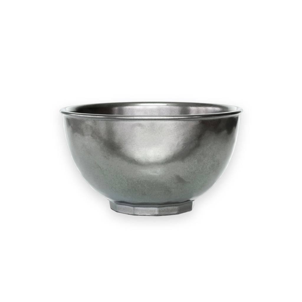 Juliska Pewter Cereal/ Ice Cream Bowl