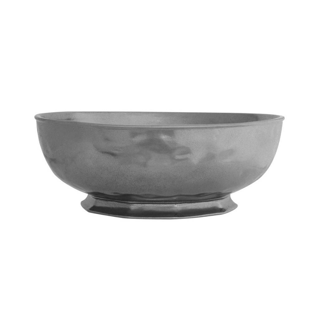 "Juliska Pewter Large Serving Bowl- 14"""