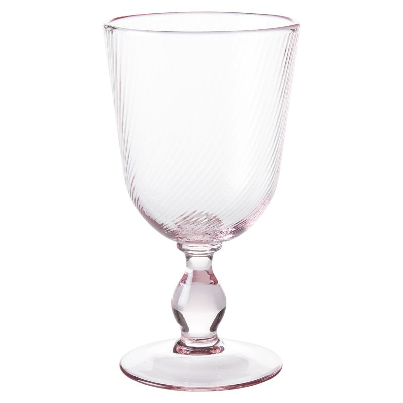 Juliska Arabella Petal Pink Footed Goblet