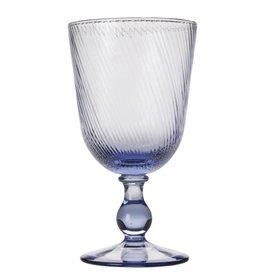 Juliska Arabella Delft Blue Footed Goblet