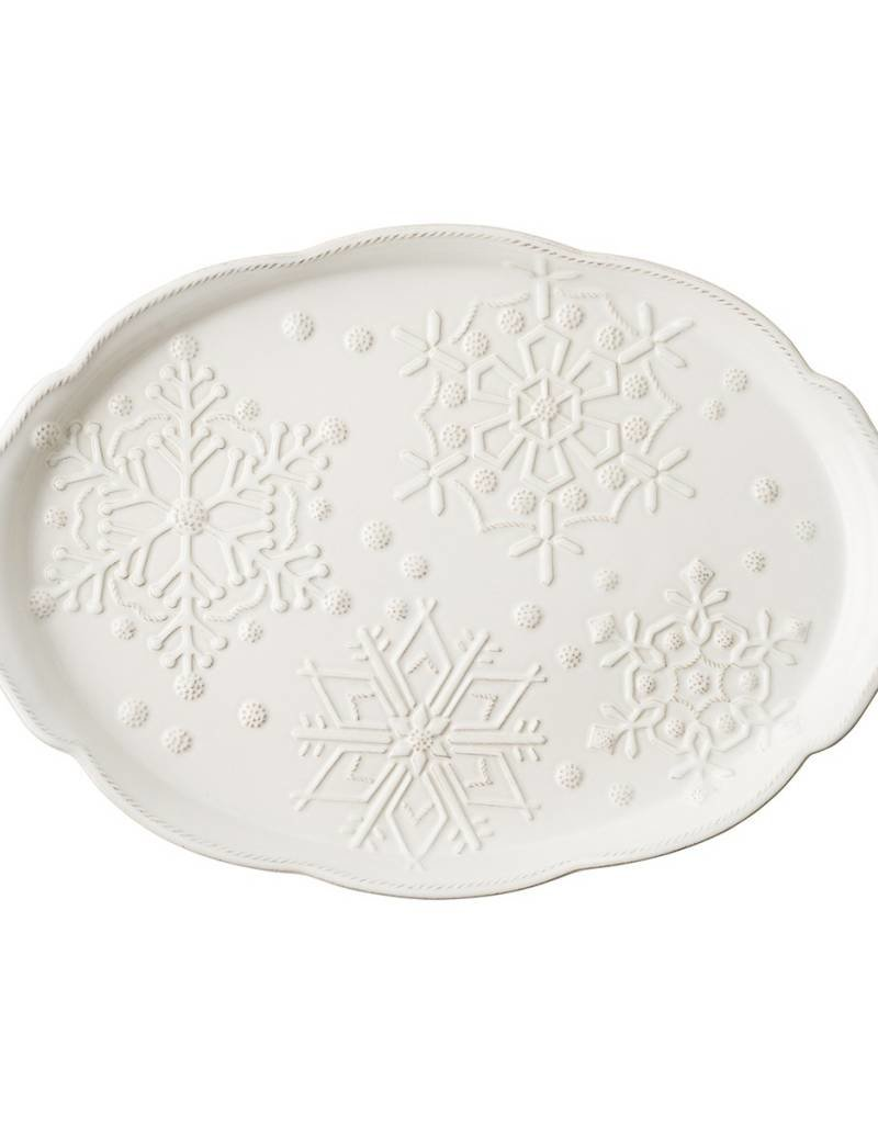 Juliska Berry and Thread Snowfall Platter