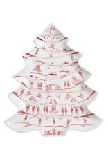 Juliska 12 Days of Christmas Winter Frolic Tree Platter