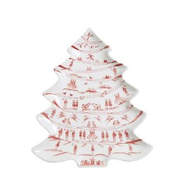 Juliska 12 Days of Christmas Winter Frolic Tree Platter