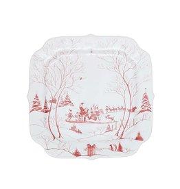 Juliska Winter Frolic Santa's Cookie Tray