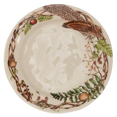 """Juliska Forest Walk Dinner Plate 11""""W"""