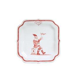 Juliska Santa Reindeer Games Plate