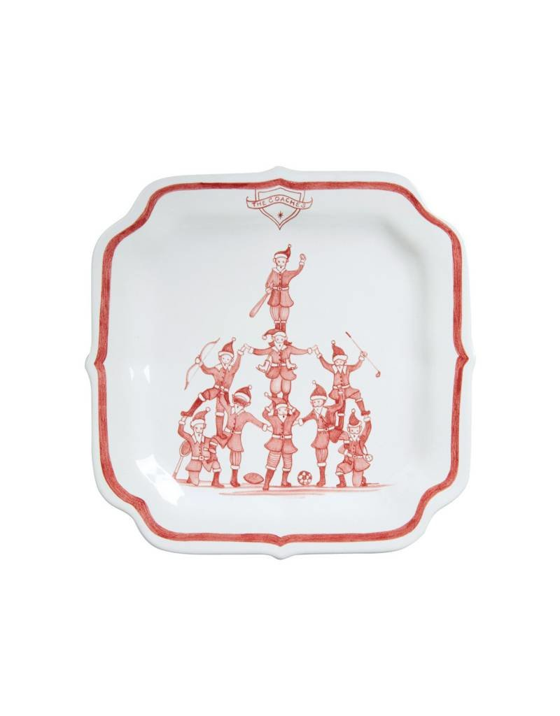 Juliska The Coaches Reindeer Games  Plate