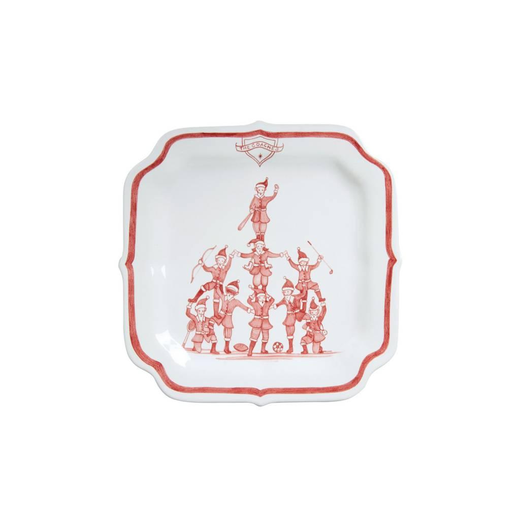 Juliska The Coaches Reindeer Games  Plate