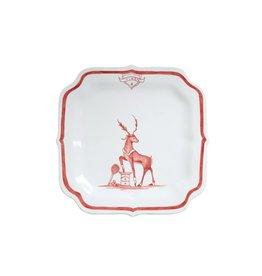 Juliska Vixen Reindeer Games Plate
