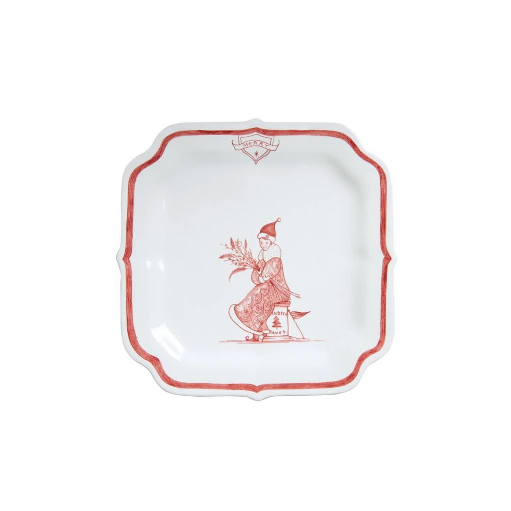 Juliska Merry Reindeer Games Plate