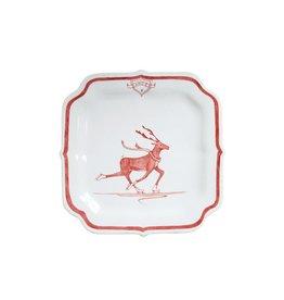 Juliska Dancer Reindeer Games Plate