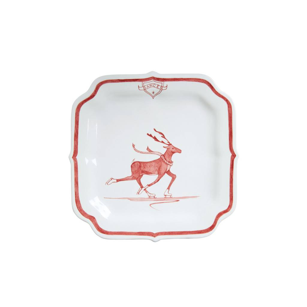Juliska Dancer Reindeer Games Plate