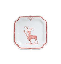 Juliska Dasher Reindeer Games Plate