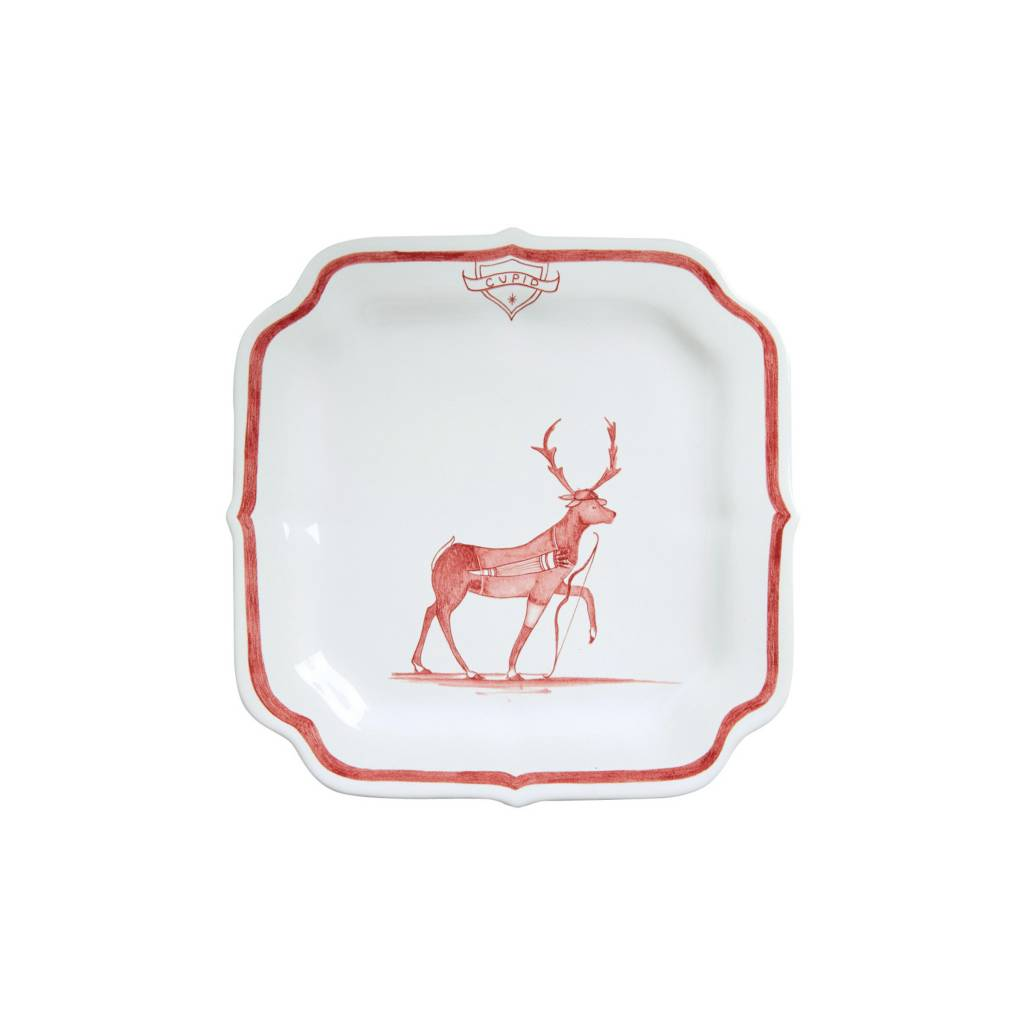 Juliska Cupid Reindeer Games Plate