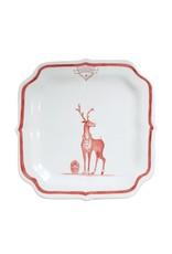 "Juliska Reindeer Games ""Rudolph"" Plate"