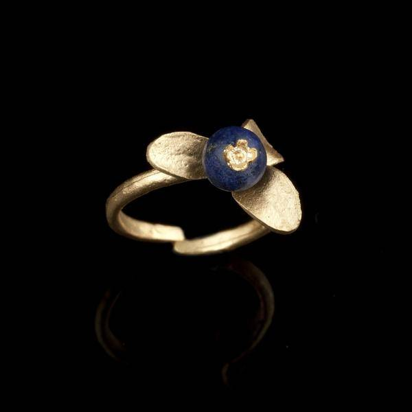 Michaud Silver Seasons Blueberry Ring