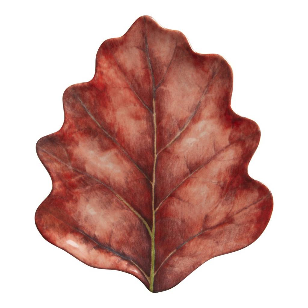 Juliska Forest Walk Leaf Party Plate Set/4