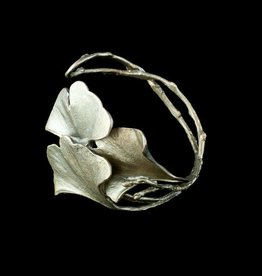 Gingko Cuff Bracelet