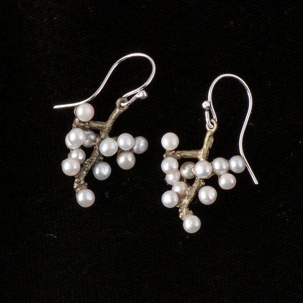 Michaud Silver Seasons Ume Wire Drop Earring