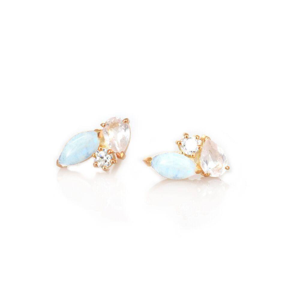 La Kaiser Sweetpea Stud Earrings