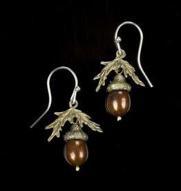 Acorn Wire Earring