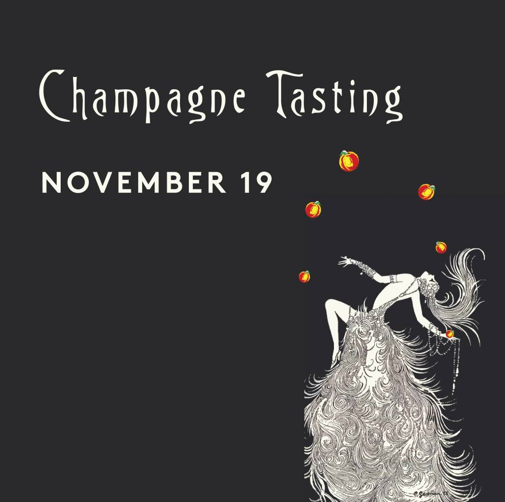 CarefulPeach Champagne Tasting Ticket