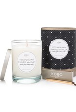 Vetiver & Shaved Vanilla Soy Candle