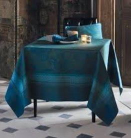Garnier-Thiebaut, Inc. Isaphire Emeraude Tablecloth, 69 x 100