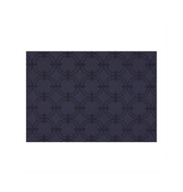 Anneaux Cotton Placemat in Night